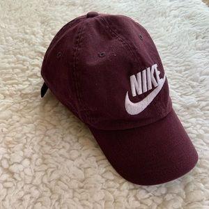 Dark purple Nike hat